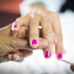 Gel Manicure and Re-polish Toes (Kedesha's Total Beauty Care)